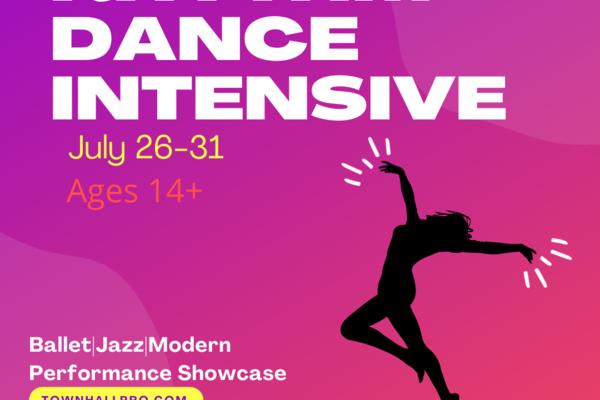 Rhythm dance intensive 2