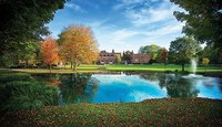 Elmiracollege fall puddle