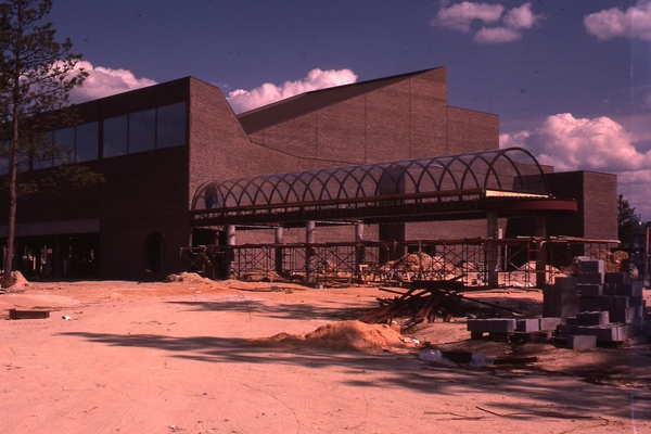 Etherredge center under construction