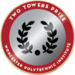Wpi badge two towers