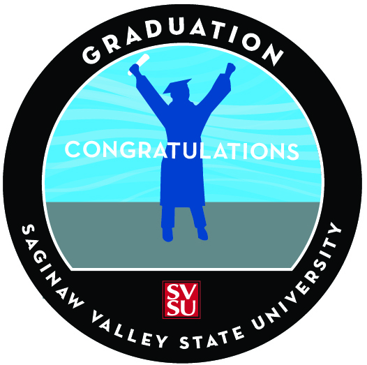 Svsu graduation badge