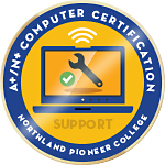 Computer Certification A+/N+ Badge