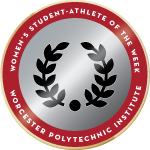 Wpi badge womens student athlete of the week