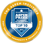 Aspen top10 badge