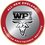 Wpi badge all new england.fw