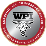 Wpi badge academic all conference award