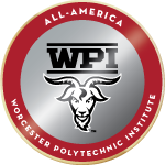 Wpi badge all america