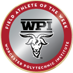 Wpi badge field athlete of the week