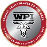 Wpi badge special teams player of the week