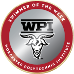 Wpi badge swimmer of the week