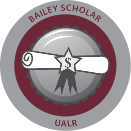 Ualr bailey scholar badge 2014