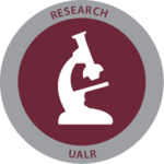 Ualr research badge 2014