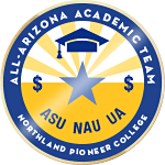 All Arizona Academic Team Scholarship Badge