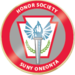 Honor society merit red