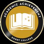 Academic achievement badge resized