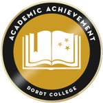 Academic achievement badge resized
