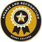 Awards recognition badge