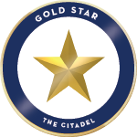 Citadel gold star badge 01