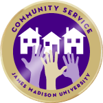 Community service badge highlight 01