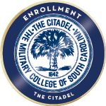 Citadel enrollment badge 01