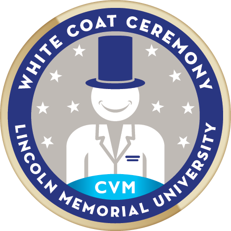 White coat badge   cvm