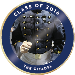 Citadel class of 2016 badge 01