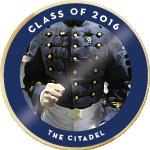 Citadel class of 2016 badge 01