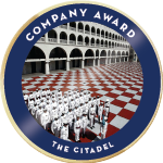 Citadel company award badge 01