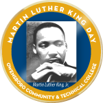 Badge mlk event
