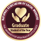Merit badge 2017 national association of social workers graduate student of the year