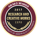 Merit badge 2017 research and creative works expo award winner