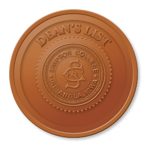 2014 deans list badge