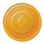 2014 presidents list badge