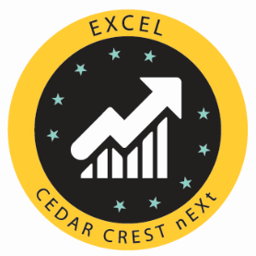 Excel badge