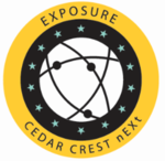 Exposure badge