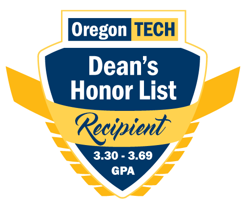 Deanlist recipient
