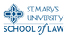Stmarys lawschool stacked over blue