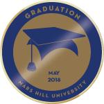 Grad may 2018 badge