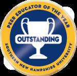 Wlc outstanding peer educator of the year merit badge