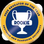 Wlc peer educator rookie of the year merit badge