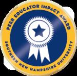 Wlc peer educator impact award merit badge