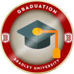 Bradley badge 20181011b 05 graduation