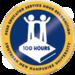 Peer educator service hour 100 badge