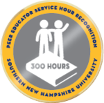 Peer educator service hour 300 badge