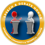 Badge speechanddebate award
