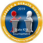 Badge speechanddebate kfa2019 award