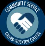 Communityservice badge amv c sc