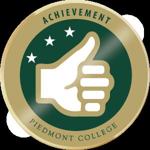 Merit badge achievement
