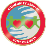 Community service badge