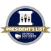Merit badges president's list